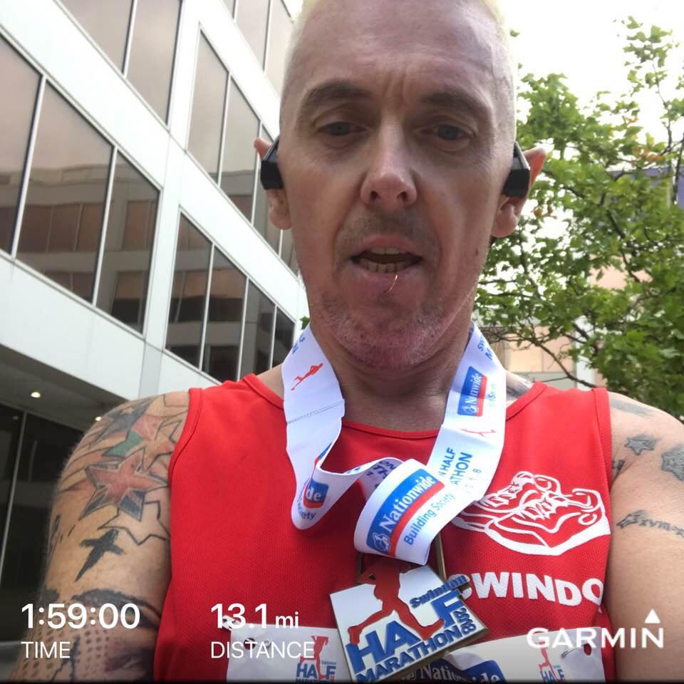swindon half marathon time picture 2018